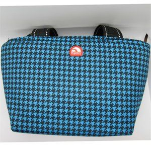 Igloo Insulated Lunch Bag Houndstooth Blue Black